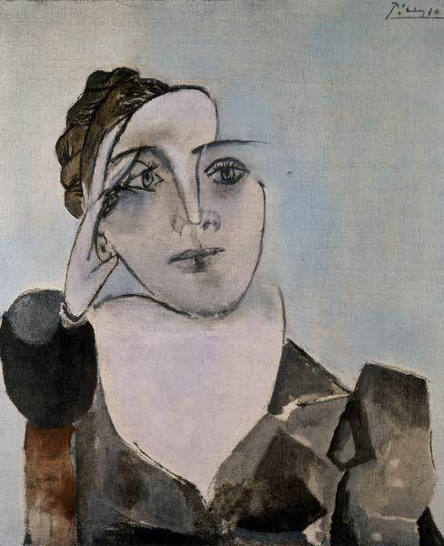 Portrait of Dora Maar by Picasso, 1936