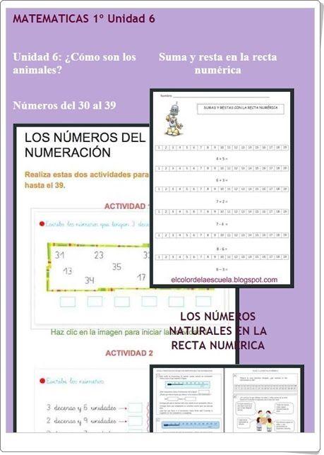 """Unidad 6 de Matemáticas de 1º de Primaria: """"Suma de números de 2 cifras"""""""