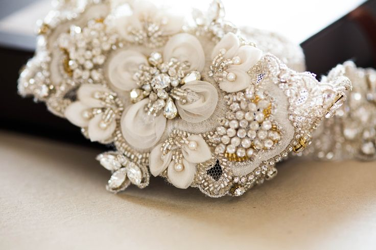 Bridal belt - Style R50 (1 qty ready to ship) from MillieIcaro
