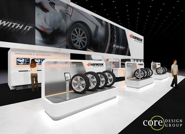 Exhibition Stand Design Lebanon : Hankook tires b int g architecture