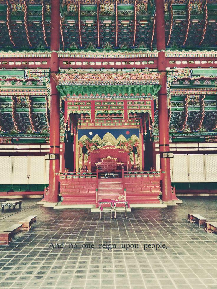 #5 Visit Gyeongbokgung, the royal palace of Joseon Dynasty in Seoul, Korea!