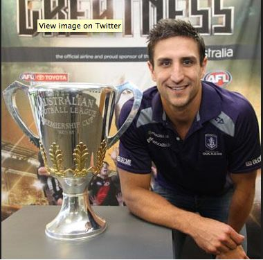 Matthew Pavlich has played 289 games for the Dockers over 14 seasons and finally his loyalty is being rewarded with a chance at an AFL premiership. (Fremantle Dockers / Twitter)