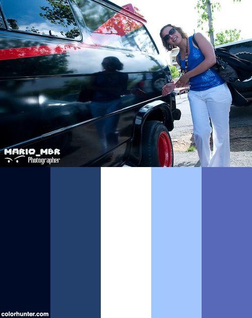 American Muscle Car 2010 Color Scheme