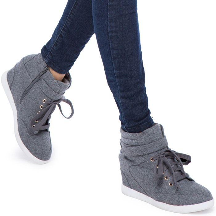 a2178a00bea  Brenda  Fashion Wedge Sneakers