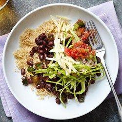 Tex-Mex Black Bean & Quinoa Bowl  - EatingWell.com