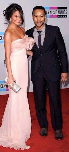 John Legend & wife Chrissie Teigen