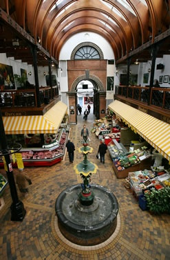 Take some time out to enjoy the English Market in Cork, one of the oldest markets in Europe trading since 1788.