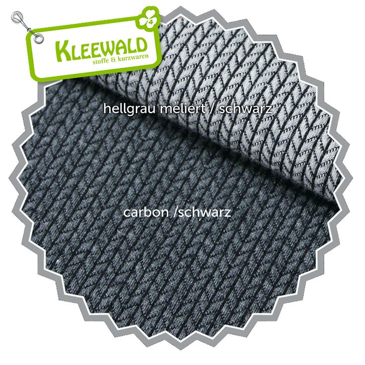 HIPSTER SQUARE Knit Knit / carbon-schwarz / GOTS