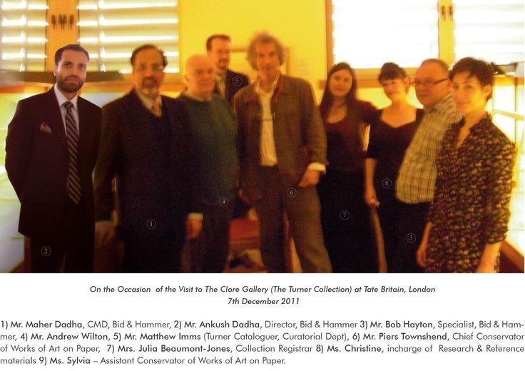 Turner discovery at Tate Britain by Bid & Hammer