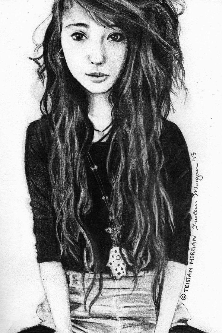 Pencil Sketch via Tumblr