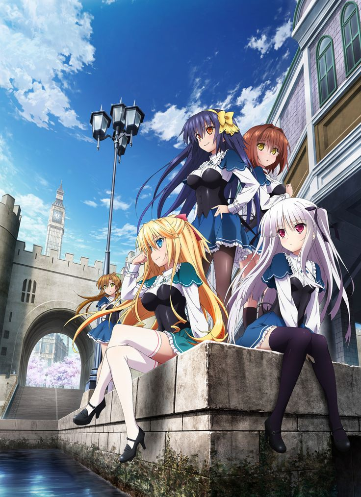 The official website for the anime adaptation of Hiiragi-Boshi and Yuu Asaba's Absolute Duo light novel series has released new information for the upcoming series. The site has revealed that the anime will air from January 4 next year. Additionally, a brand new visual, the first set of character designs and some new cast members of the anime were also revealed.
