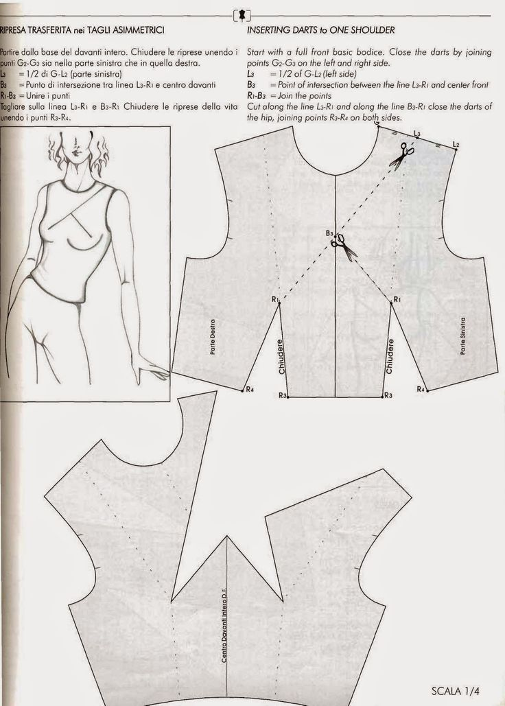600+ best patrones blusas images on Pinterest | Sewing patterns ...