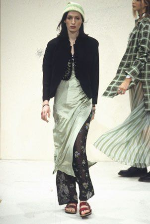 Marc Jacobs for Perry Ellis Spring 1993 / Photo:  Christopher Moore Limited