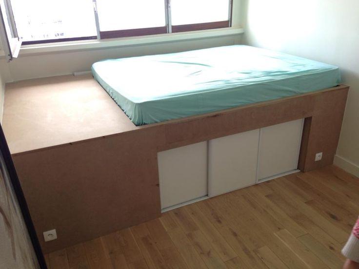 PRODIJJ - Menuiserie à Paris - Structure de lit sur mesure