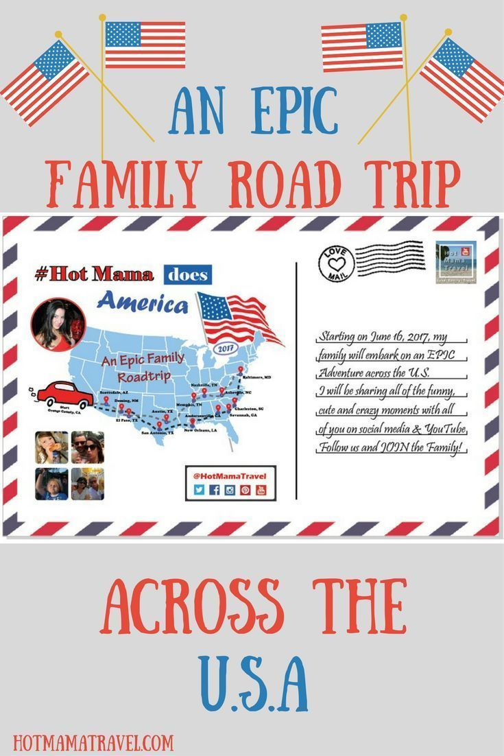 The ultimate itinerary for an epic family road trip across the USA #HotMamaDoesAmerica