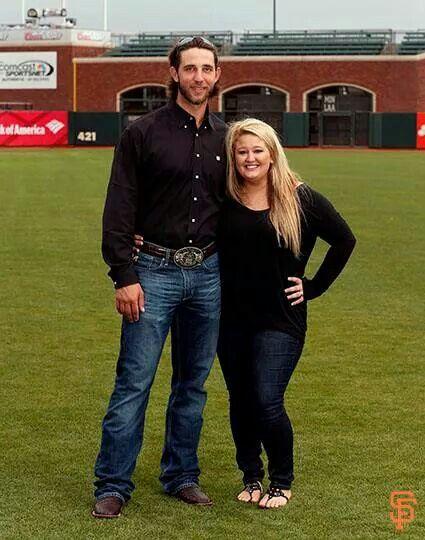 Madison Bumgarner & his wife Ali