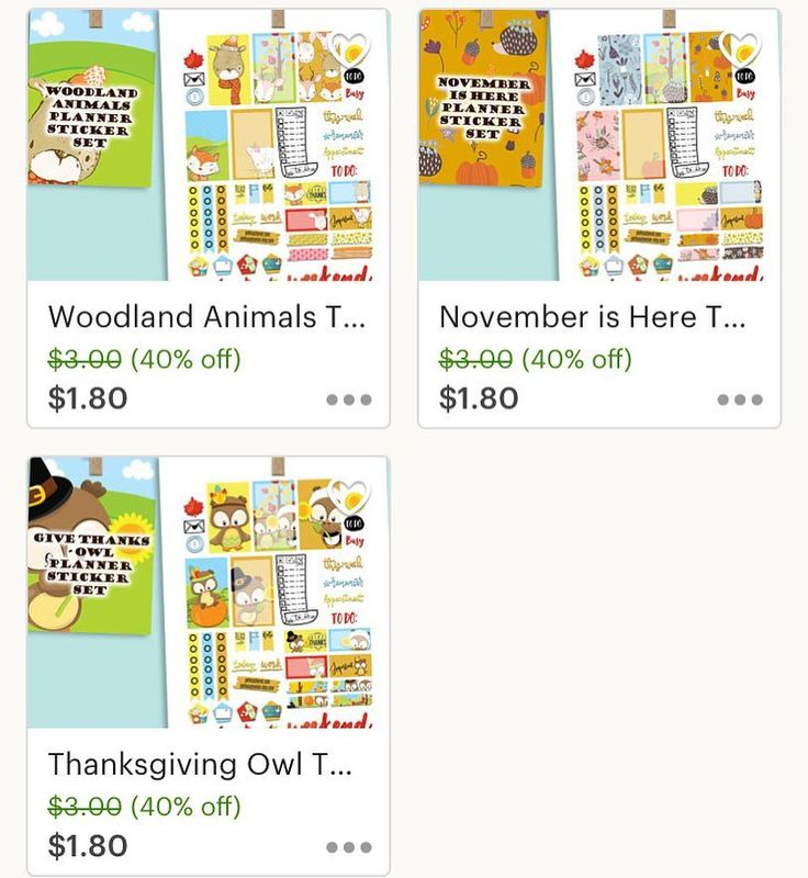 You still have time to get your Thanksgiving Planner Weekly Set and make a fabulous decoration. Take a look at few of our designs available at  pelhuazplanner Etsy Shop. Take advantage of the 40% Sale that is happening NOW! #planner #plannerstickerset #sale | Pelhuaz by Red | Handmade Jewelry | Planner Essentials | Planner Accessories | Fun Apparel