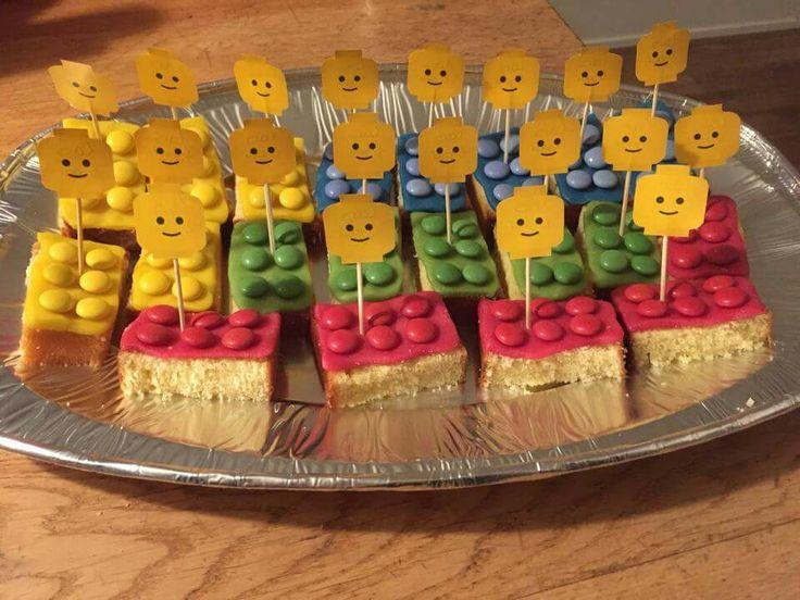 Lego blokje cake
