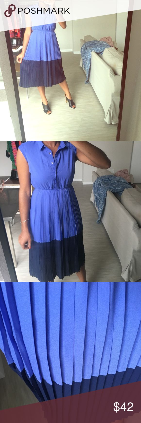 ASOS pleated midi dress This dress by Sugar Hill (sold on ASOS) is so classy and beautiful for spring, summer and even fall! Wore once for a bridal shower and it was perfect! Hits at the shin, size 8. Love it paired with my Calvin Klein heels (also for sale!) for a work day or evening out💁🏽 ✨Always welcome reasonable offers through the button✨ ASOS Dresses Midi