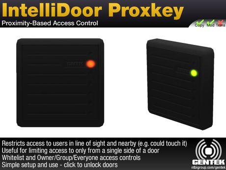 IntelliDoor Proxkey - Proximity-Based Access Control