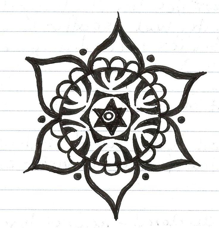 simple mandala tattoo designs mandala 11 by elementwarrior hindu symbols pinterest mandala. Black Bedroom Furniture Sets. Home Design Ideas