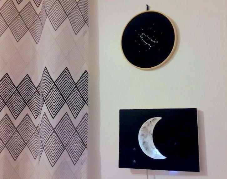 passo a passo de luminária de lua
