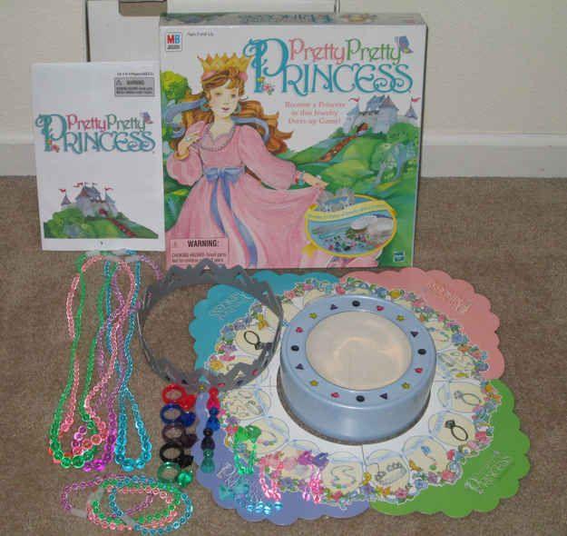 Pretty Pretty Princess | 15 Vintage Board Games That Will Make '90s Kids Nostalgic