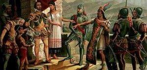 Hernán Cortés, el conquistador del Imperio Azteca, Cortés con Moctezuma