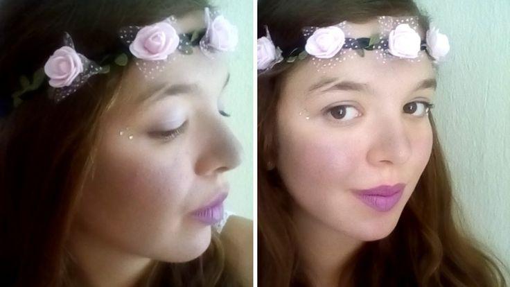 Easy Fairy Makeup Tutorial & Hairstyle for Halloween 2016 I Mirtoolini http://youtu.be/5eEj4K6rUtI #mirtoolini #youtuber