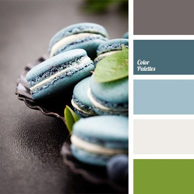 Salad green and silver are combined with shades of turquoise. Salad green stands out noticeably and animates the entire composition consisting of darker shades but for silver. These colors can be used in wedding decoration, in serving of a festive table and suits for the bride and the groom. #Color Palettes #Pastel Palettes