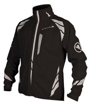 tons of reflective detailing, integrated light and 2.5 layer breathable waterproof fabric, Endura Luminite II Jacket - House of Chain