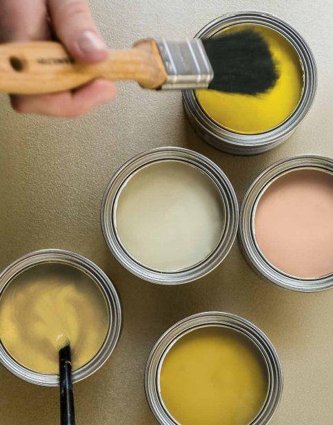 Dé kleur van het jaar 2016: Okergoud - Flexa - Akzonobel Je leest het op http://www.stijlhabitat.nl/okergoud-de-kleur-van-2016/ Ochre gold interior