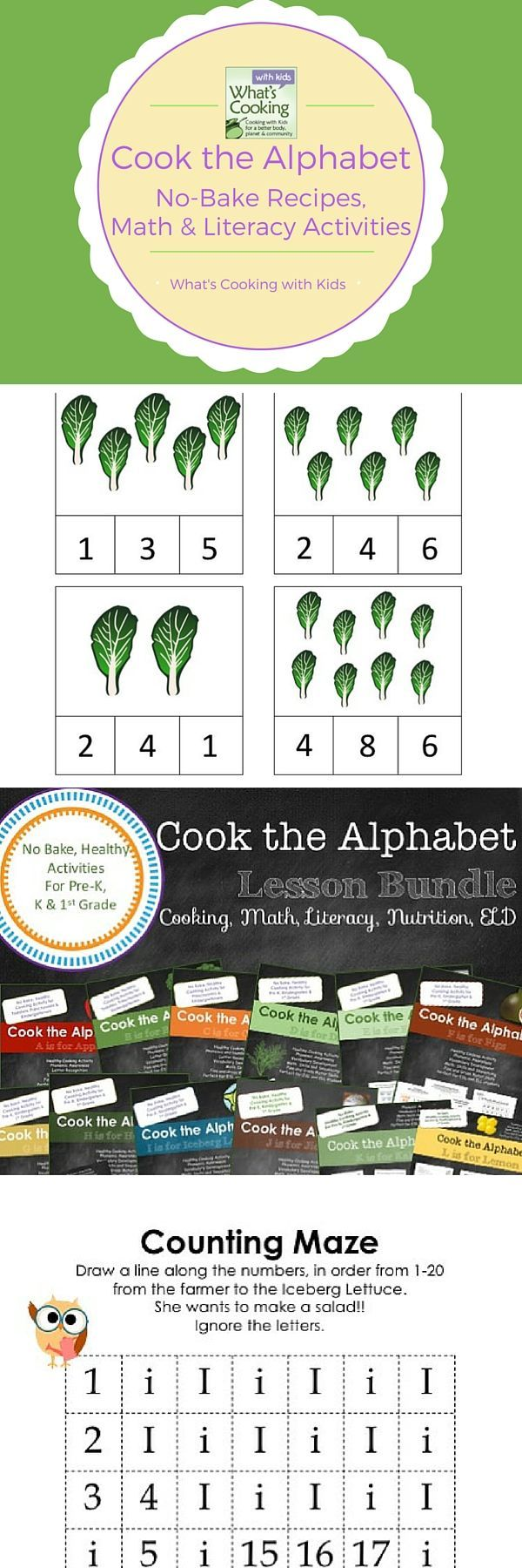 Cook the Alphabet: A to Z Growing Lesson Bundle