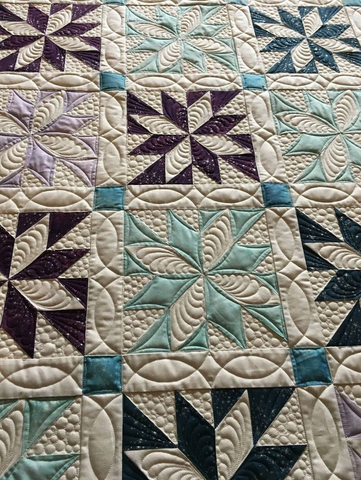 Threadworks Factory custom quilt - absolutely gorgeous