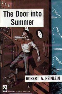 Highly regarded tale of temporal revenge sees electronics engineer Dan Davis invent the ultimate household robot, but his greedy business partner and wayward fiancee pull a double-cross. Duped into the 'Long Sleep', he wakes up in the year 2000 and utilises space jumps to inflict his recurring revenge. Heinlein in his heyday.