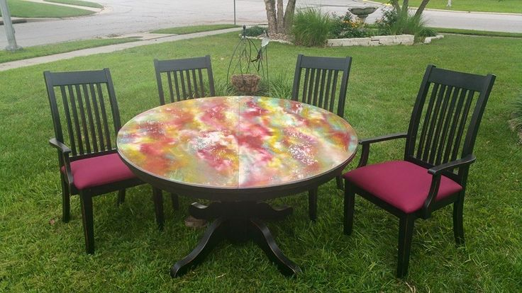 This Table Was Done By Michelle Nicole The Inventor Of