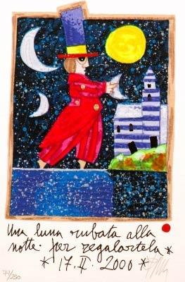 Una luna rubata alla notte per regalartela - Francesco Musante