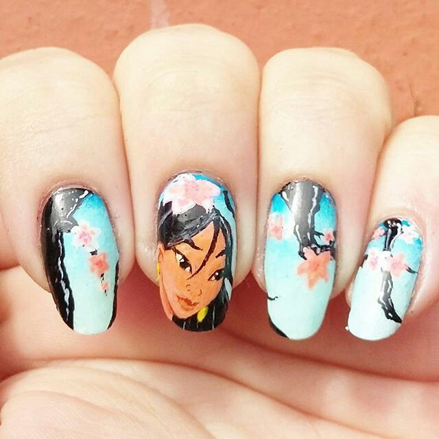 Mulan Inspired Nails: 17 Best Images About Geisha On Pinterest