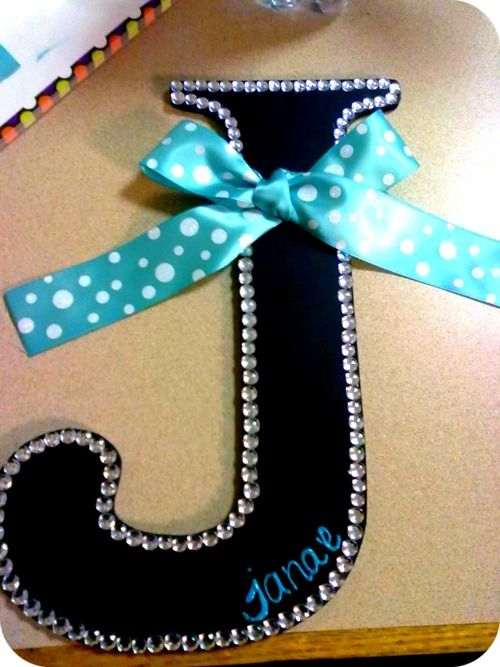 Cute idea for letters.
