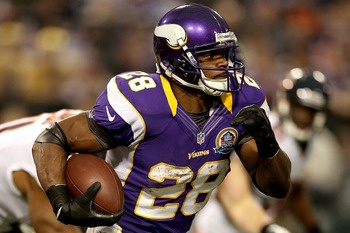 Adrian Peterson. One of the top 5 male athletes of 2012.