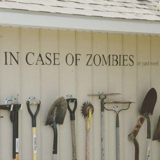 #zombie #gardening