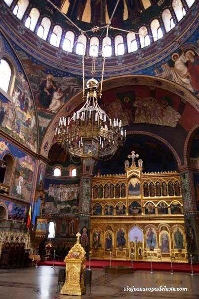 Interior de la Catedral ortodoxa de #Sibiu, #Rumanía