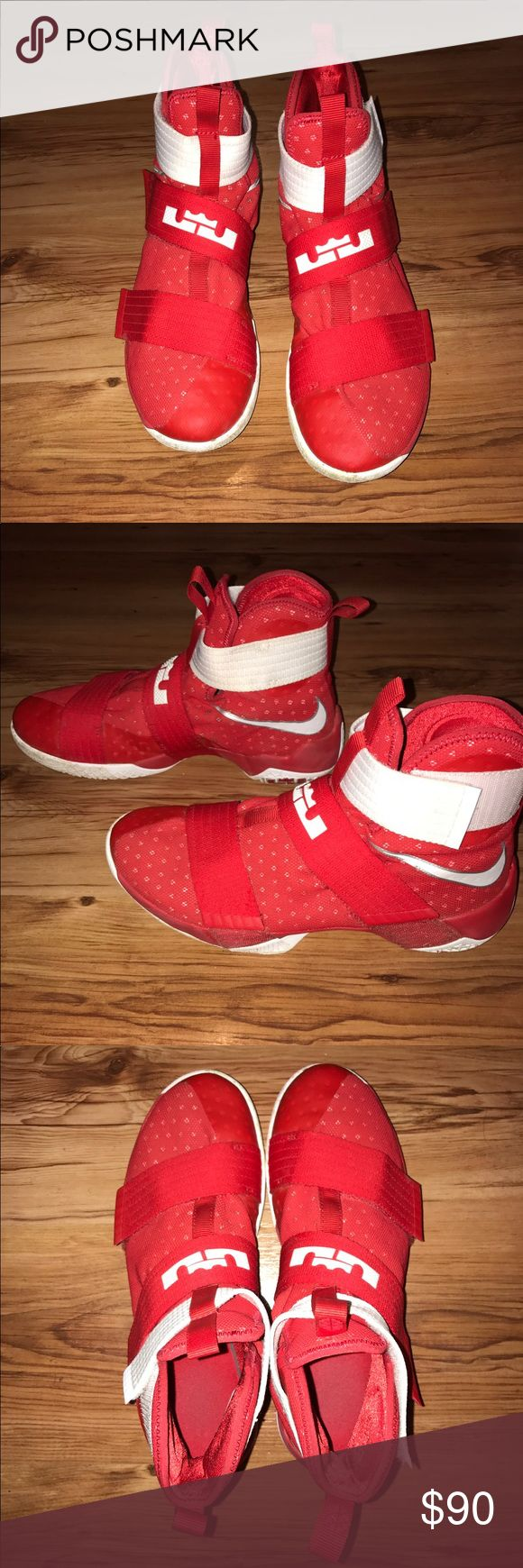 Nike Lebron Soldier 10 Very good condition! Only been worn twice Nike Shoes Athletic Shoes