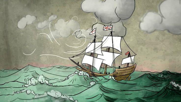 Como as matemáticas guían aos barcos no mar