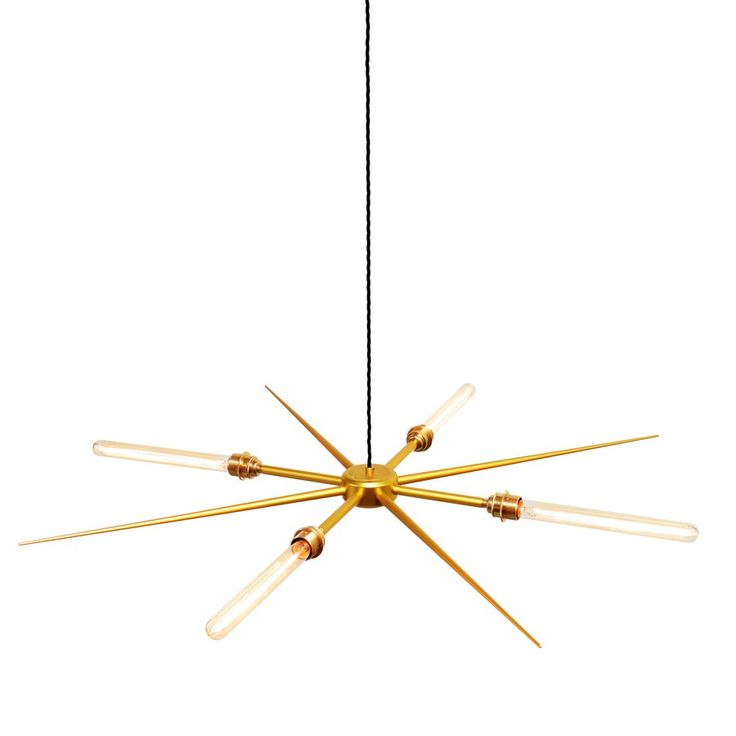 4 Light Vega 8 Pendant by Charles Lethaby Lighting — | ECC