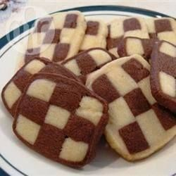 Biscoito xadrez @ allrecipes.com.br