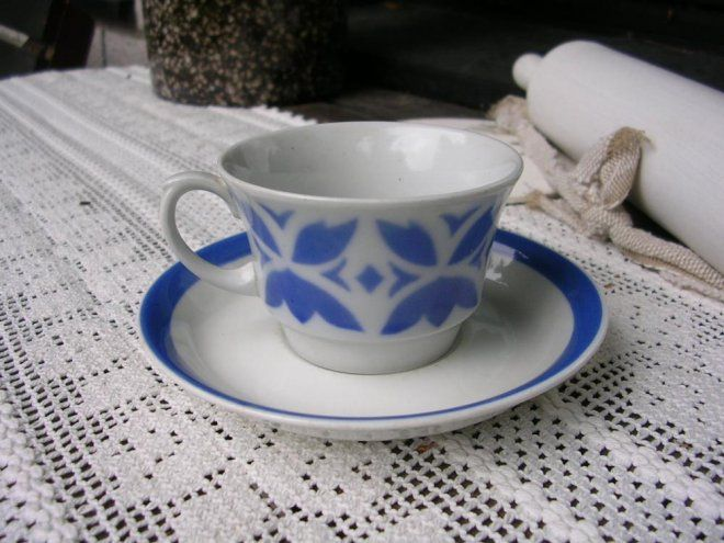Puhalluskoriste Arabia kahvikuppi