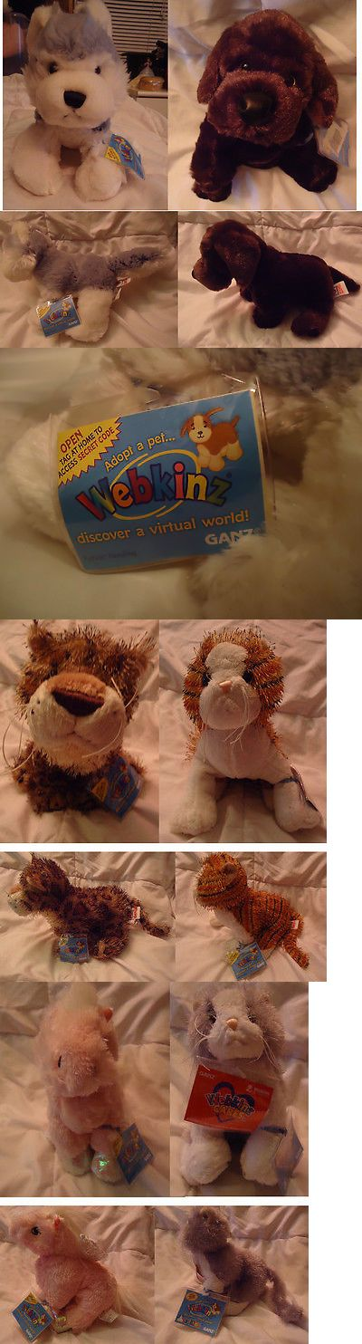 Animals 150106: Lot Of 17 Ganz Webkinz Stuffed Animals 12 Brand New Sealed With Codes $4.50 Each -> BUY IT NOW ONLY: $60 on eBay!