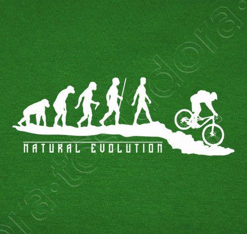 Camiseta Natural Evolution MTB - nº 983878 - Camisetas latostadora