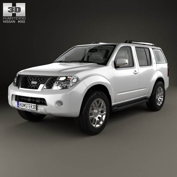 Nissan Pathfinder with HQ interior 2010 3d model from humster3d.com. Price: $125